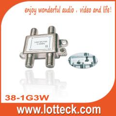 5-1000Mhz 3- way splitter