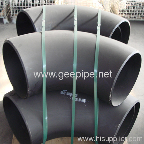 China carbon steel bott-welded pipe fitting