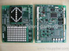 Mitsubishi Elevator Spare Parts LHD-1010BG40 PCB Display Panel Board