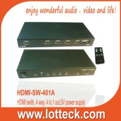 4 WAY HDMI1.3 SWITCH
