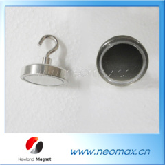 Permanent neodymium magnetic hook