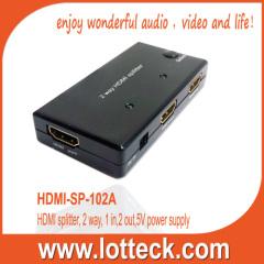 2 WAY HDMI 1.3 SPLITTER
