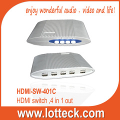 LOTTECK HDMI-SW-401C 4IN/1OUT HDIM SWITCH