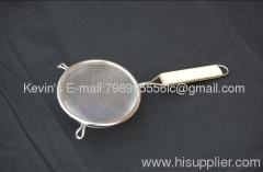 SS201304 food strainer / sikmmer/ wire mesh strainer