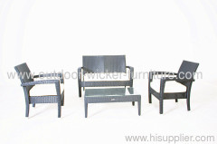 Outdoor wicker furniture seater chairs