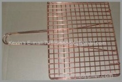 copper grill topper/ BBQ grill netting