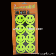 high visibility reflective tags