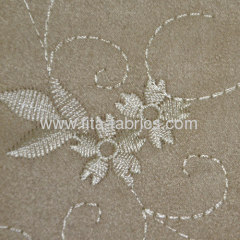 100%Polyester Jacquard Suede Fabric for sofa or chair