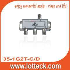 1.0-4.8dB Insertion Loss 2-way tap