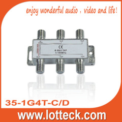 10±1.5-24±1.2dB Tap Loss 35-1G4T-C/D 4 WAY TAP