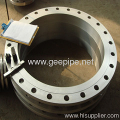 ASME B16.47 big size stainless steel forged flange