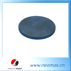Ferrite magnetic disc for industry