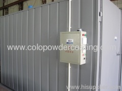 Industrial Powder Coating Cure Ovens