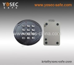 Digital Electronic safe lock with motorized locking system for safe vaults