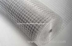 electro galvanized / PCV coated welded wire mesh