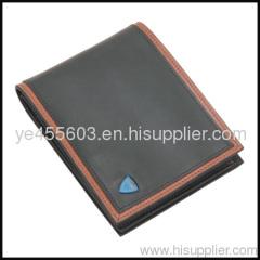 Famous brand men purse genuine leather wallet