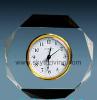crystal desk clock, crystal clocks