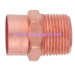 C X M copper pipe fitting adapter male air conditioner parts