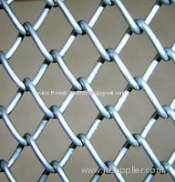 PVC coated&galvanized chain link wire