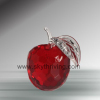 red crystal apple, crystal apple gift