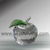 apple crystal, crystal gifts