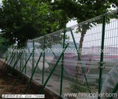 pvc coated /Double Circles Fence