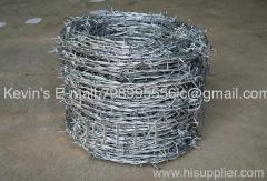 galvanized/PVC coated razor wire/ barbed wire