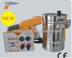 equipos para pintura electrostatica del polvo
