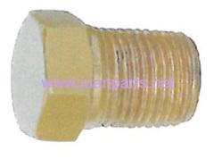 Brass hose fitting (Pipe plugs)