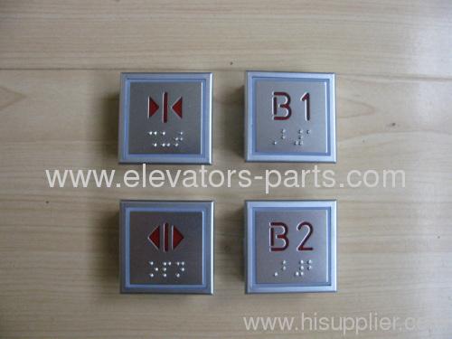 Thyssen Elevator Thinner Braille Button lift parts