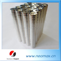 neodymium magnets with countersunk