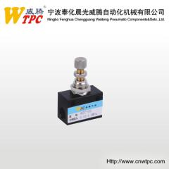 pneumatic flow control valve check valve exhaust valve ST-08