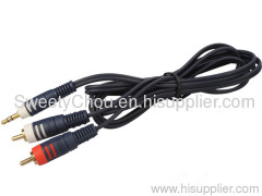 AUDIO VIDEO RCA CABLE/3RCA TO 3RCA CABLE