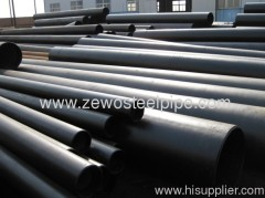 CARBON ROUND ERW STEE PIPE 159MM*6MM