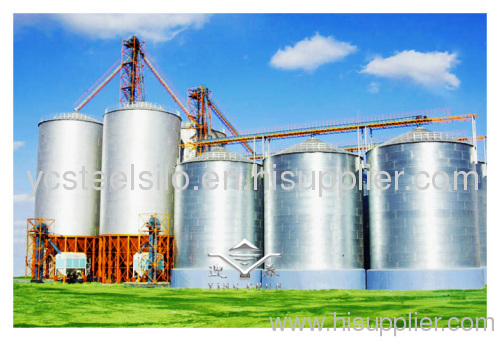 steel silo grain silo storage silo feed bin from China manufacturer