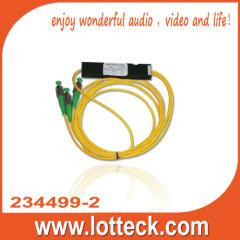 yellow wires 234499-2 2ways optical courple