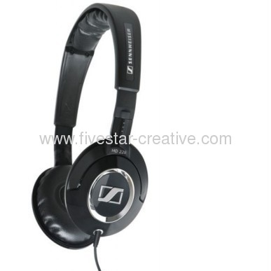 Sennheiser HD228 Black Headphones