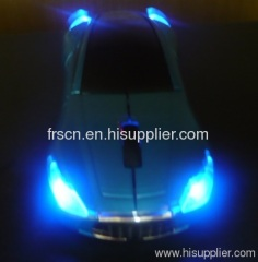 led lightig usb wireless car mouse