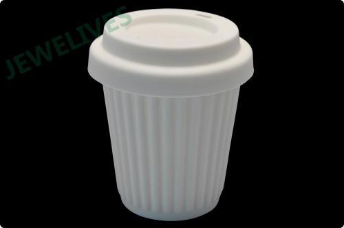 FDA Silicone Cofee mug with lid