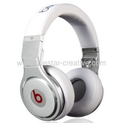 Beats by Dr. Dre Pro High Performance Headphones White