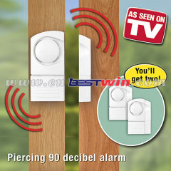 Wireless door window entry alarm
