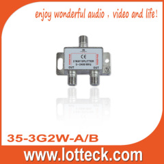 5-2400MHz 35-3G2W-A/B SAT 2-way splitter