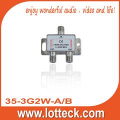 5-2400MHz 35-3G2W-A/B SAT 2-way splitter