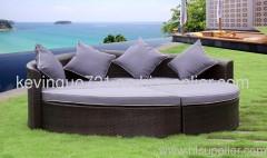Outdoor Rattan Wicker Yard Lawn Furniture Sofa Set