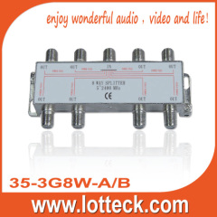 LOTTECK 5-2400MHZ 8-WAY SPLITTER