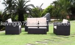 Outdoor Rattan Patio Garden Sofa Set