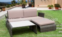 Rattan Patio Garden Sofa Set