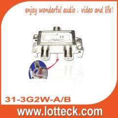 Bottom cable pass 31-3G2W-A/B 2-way splitter