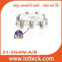 1 IN 4 OUT 31-3G4W-A/B 4 WAY SPLITTER