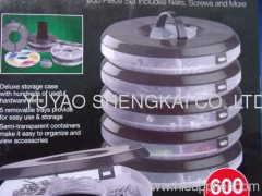 Nail, plug & screw assortment